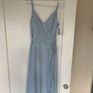 After Six Bridesmaid Dress Size 2 Color Mist